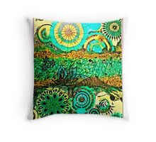 The time travellers guide to the stars Throw Pillow