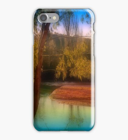 Landscape with River iPhone Case/Skin