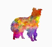 Border Collie in watercolor Unisex T-Shirt