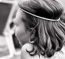 Hippie girl by NumandisArt