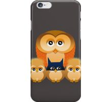 THE OWL FAMILY iPhone Case/Skin