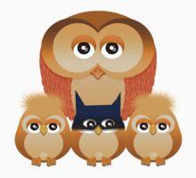THE OWL FAMILY One Piece - Long Sleeve