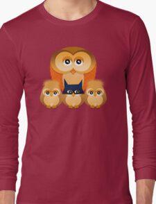 THE OWL FAMILY Long Sleeve T-Shirt