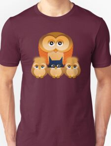 THE OWL FAMILY Unisex T-Shirt