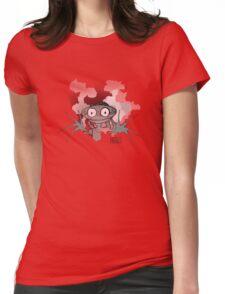 Mizgot in steam Womens Fitted T-Shirt