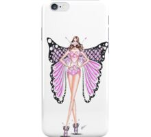 Angel in the town iPhone Case/Skin