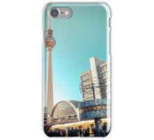 Berlin Alexanderplatz iPhone Case/Skin