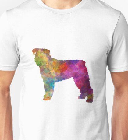 Bouvier Des Flandes in watercolor Unisex T-Shirt