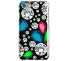 Amazing template design on diamonds background.  iPhone Case/Skin