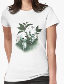 Natural History - Forest Spirit studies Womens Fitted T-Shirt