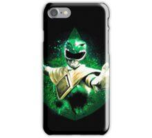 Green Ranger Splatter iPhone Case/Skin