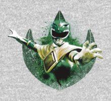 Green Ranger Splatter Kids Tee