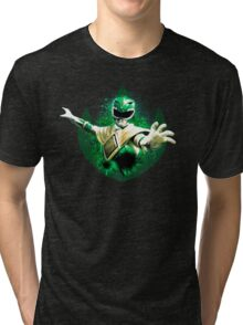 Green Ranger Splatter Tri-blend T-Shirt