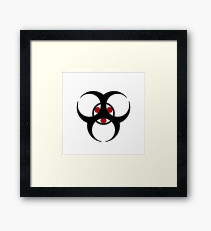 Trikru symbol Framed Print