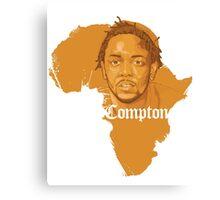 Kendrick Lamar Africa Compton  Canvas Print