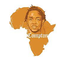 Kendrick Lamar Africa Compton  Photographic Print