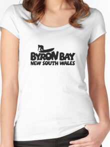 Byron Bay Surfing Women's Fitted Scoop T-Shirt