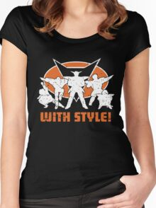 ginyu force Women's Fitted Scoop T-Shirt