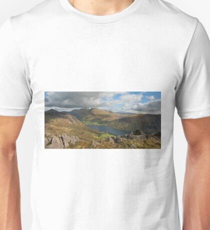 Wastwater and Scafell Pike Unisex T-Shirt