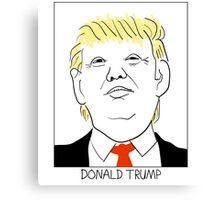 Donald Trump Canvas Print