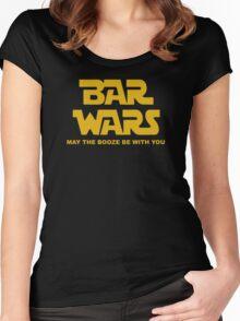 Bar Wars Barista Bartender Women's Fitted Scoop T-Shirt