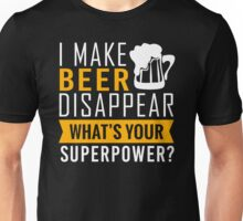 Beer Disappear Unisex T-Shirt