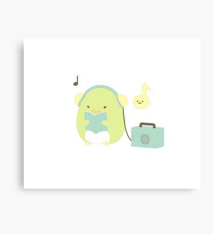 Penguin? Canvas Print