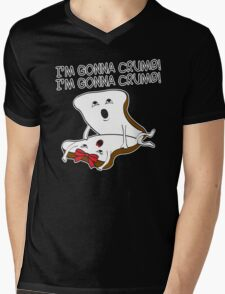 gonna crumb Mens V-Neck T-Shirt