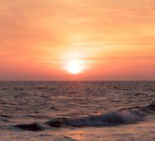 Sunset at the Beach Sticker