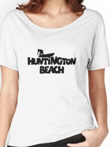 Huntington Beach Surfing Women's Relaxed Fit T-Shirt