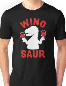 Wine Winosaur Dinosaur Unisex T-Shirt
