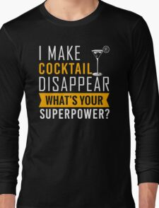 Cocktail disappear Long Sleeve T-Shirt