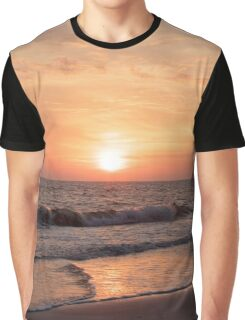 Sunset at the Beach Graphic T-Shirt
