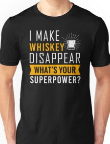 Whiskey disappear Unisex T-Shirt