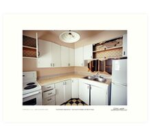 accumulated imperfection 1 Art Print