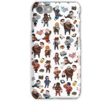 Team Fortress 2 / RED,BLU All Class(pattern) iPhone Case/Skin