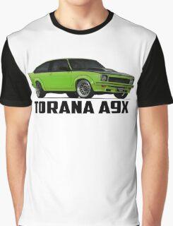 Holden Torana - A9X Hatchback - Green Graphic T-Shirt