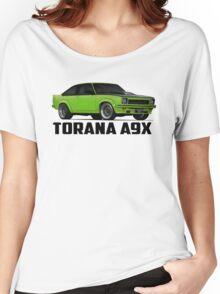 Holden Torana - A9X Hatchback - Green Women's Relaxed Fit T-Shirt