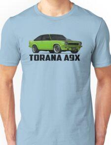 Holden Torana - A9X Hatchback - Green Unisex T-Shirt