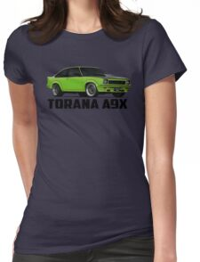 Holden Torana - A9X Hatchback - Green Womens Fitted T-Shirt