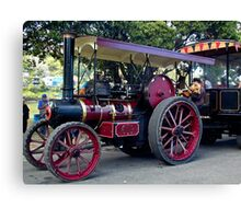 0836 NZ Steam Fair - Red     Canvas Print