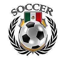 Mexico Soccer 2016 Fan Gear Photographic Print