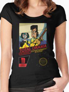 NINTENDO: NES TD GWEN & TRENT Women's Fitted Scoop T-Shirt