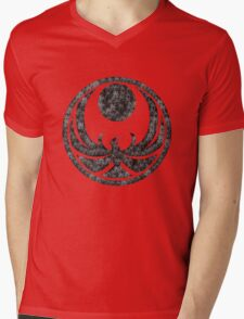Skyrim logo Mens V-Neck T-Shirt