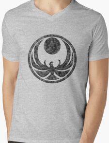Skyrim logo Mens V-Neck T-Shirt