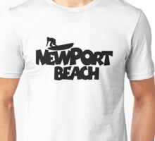 Newport Beach Surfing Unisex T-Shirt