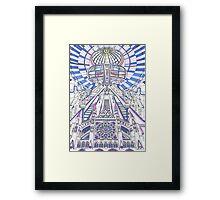 London Composition 2 Framed Print