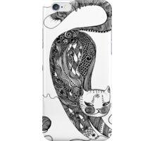playing kitten iPhone Case/Skin