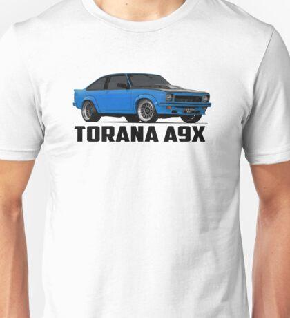 Holden Torana - A9X Hatchback - Blue Unisex T-Shirt