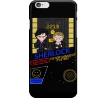NINTENDO: NES SHERLOCK iPhone Case/Skin